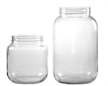 Glass Jar Labeling